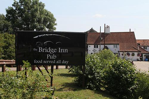 Bridge Inn pub - Acle
