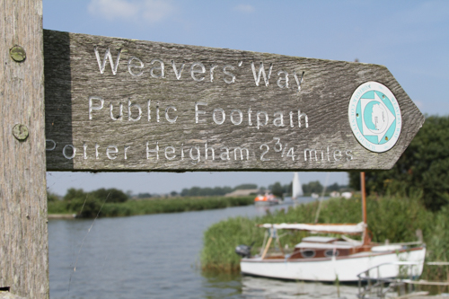Weavers Way Public Footpath